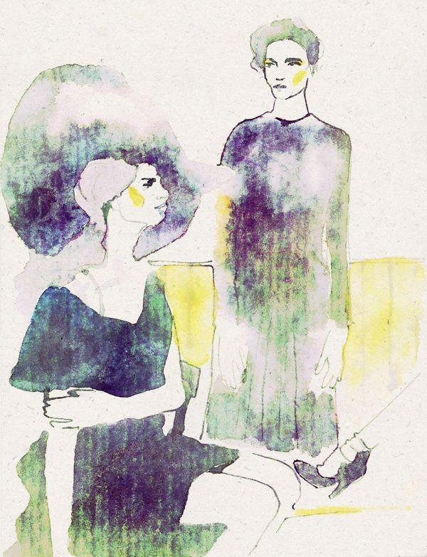Gossip Girl by Alexander Roshchin, via Behance
