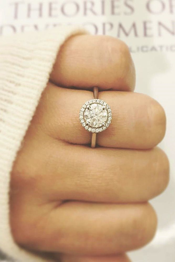Best 25 Engagement rings round ideas on Pinterest