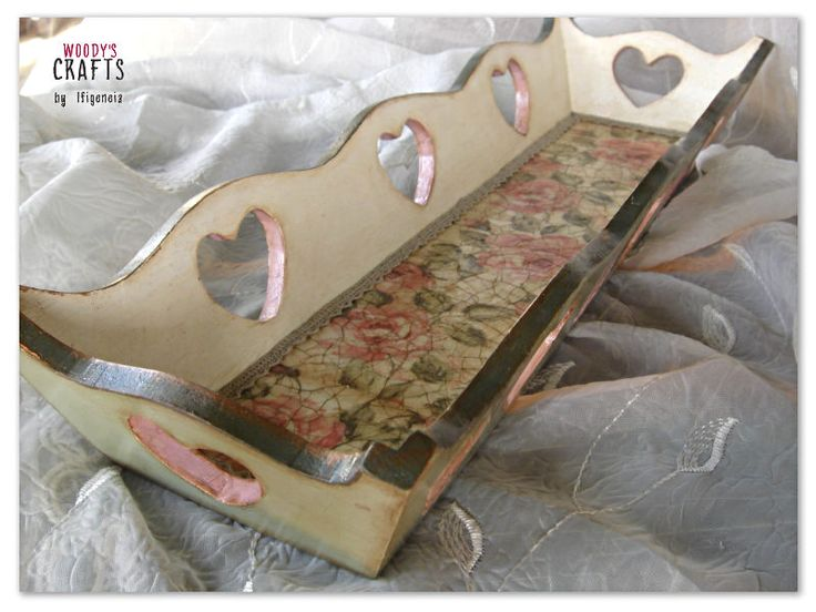 Φρουτιέρες-Ψωμιέρες | Decoupage Art | Woody's Crafts by Ifigeneia | Περισσότερα στη διεύθυνση: http://j.mp/woodys-crafts-psomieres-froutieres