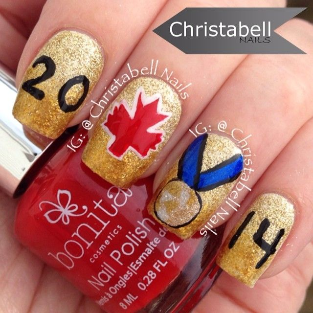 68 best sporty nail art images on pinterest american football instagram photo by christabellnails nail nails nailart prinsesfo Image collections