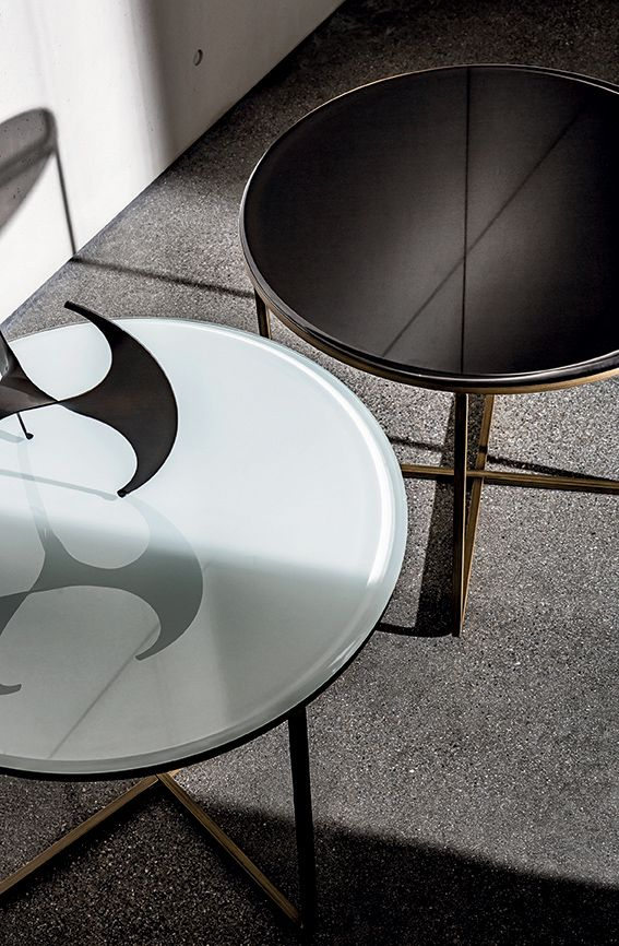 Be inspired by the shapes of the Piktor coffee tables #sovet #glassdesign