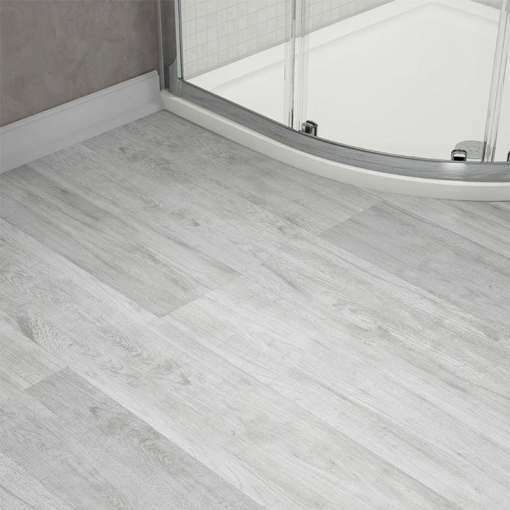 Harlow 181 X 1220mm Dove Grey Finish Vinyl Waterproof Plank Flooring 12 Piece Pack Flr Vinyl Plank Flooring Bathroom Bathroom Vinyl Vinyl Flooring Bathroom
