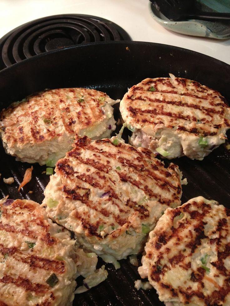 Potsticker turkey Burgers