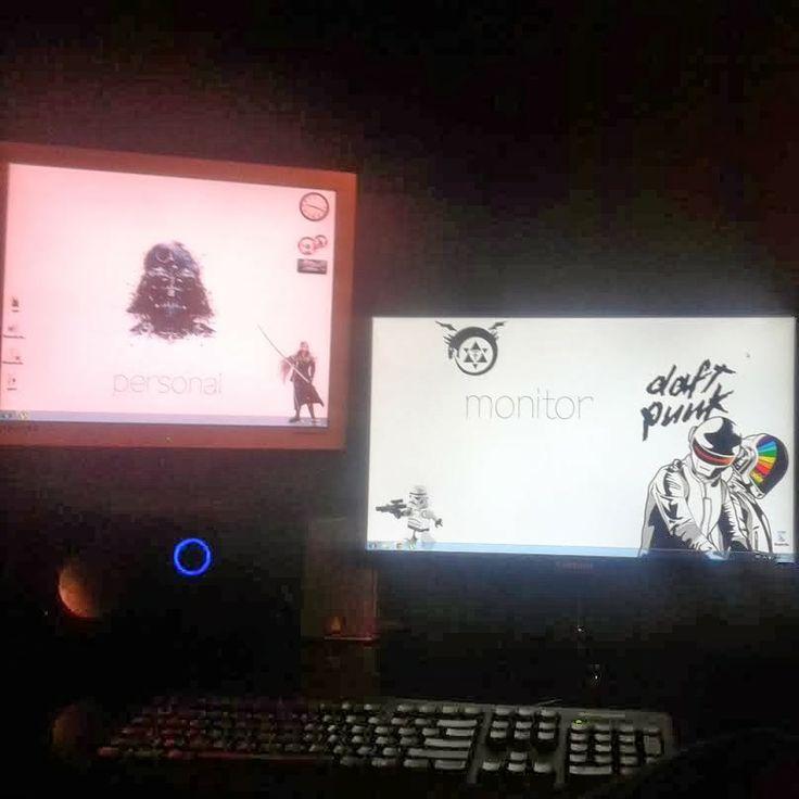 Customize your desktop- Dual monitor