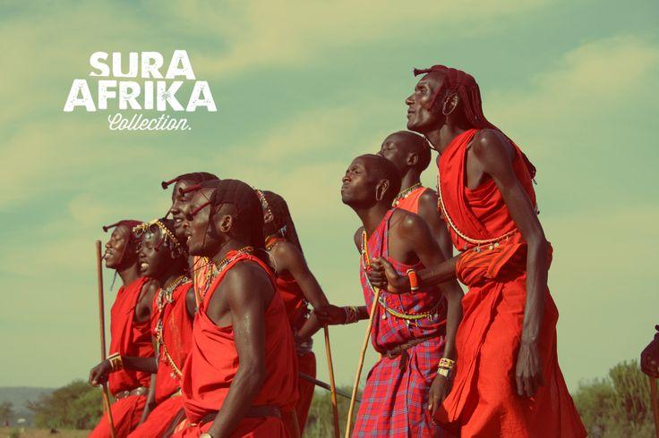 The Maasai dancing in Tanzania very close of our Safari Camp. #SuraAfrika luxury travels everywhere. #luxurysafaricamps #Maasai #Africa