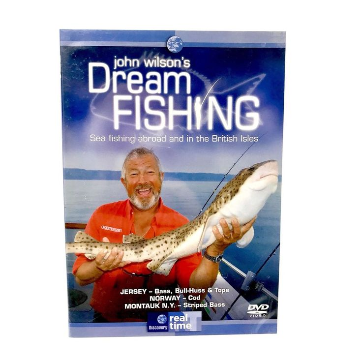 DVD John Wilson's Dream Fishing Sea Fishing Abroad & In The British Isles Vol 2