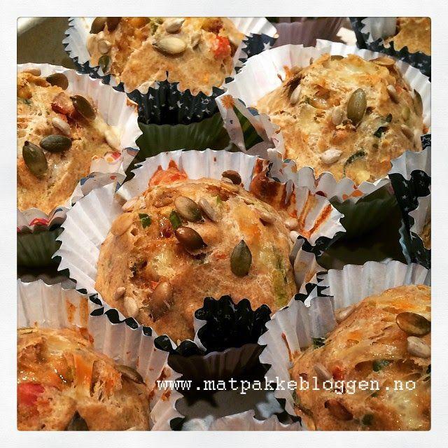 Matpakkebloggen: Lunsjmuffins med bacon