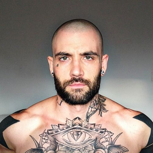 405 best images about beards and chicks on pinterest for Tattoo bald spot