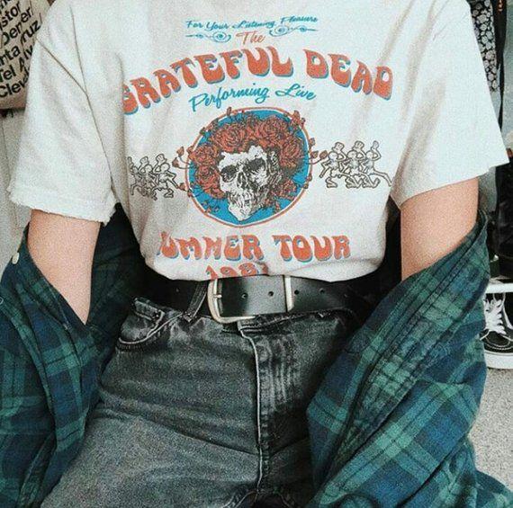 Grateful Dead Summer tour 1987 T-shirt, Grateful Dead T-shirt,Grateful Dead tour tee