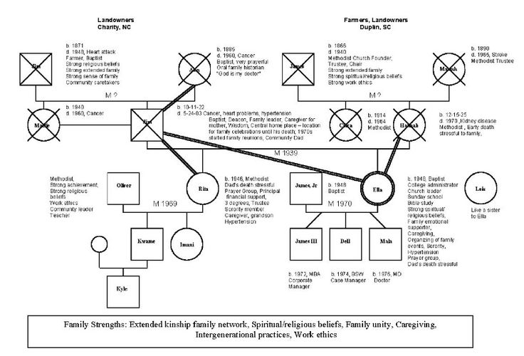 psychology genogram Standard symbols for genograms lw 8-999 a '97 m 1970 aa therapist therapist male written on left above of symbol '41-'72-$100,000 '41-an x through symbol.