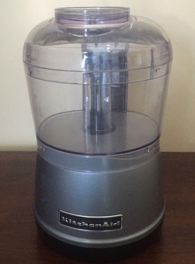 Kitchenaid 3 5 Cup Food Chopper Food Processor Rkfc3511wh Grey No