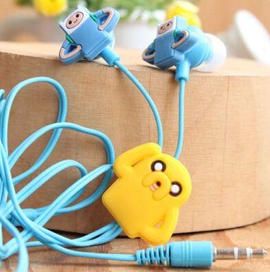 tempo de aventura cartoon anime 3.5mm em fones de ouvido earbud fone de ouvido com fone de ouvido para celular mp3 pc computador transporte livre 5.00