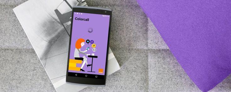 Nueva versión de la app Colorcall, muy útil para personas con discapacidad auditiva o visual leve...