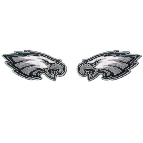Philadelphia Eagles Stud Earrings - NFL Football Fan Shop Sports Team Merchandise - http://www.thepuppy.org/philadelphia-eagles-stud-earrings-nfl-football-fan-shop-sports-team-merchandise/