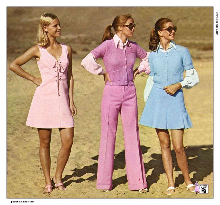 les 447 meilleures images du tableau 1960 1970 mode sur pinterest mode vintage mode r tro. Black Bedroom Furniture Sets. Home Design Ideas