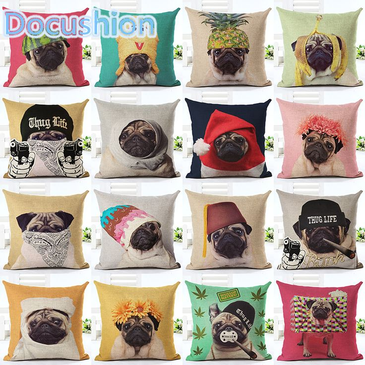 Encontrar Más Fundas de colchón Información acerca de Animal cojín de Perro para niños Decorativo Fundas de cojines para el Sofá Silla Decoración Para El Hogar Funda de Almohada Throw Pillow Car almofadas, alta calidad cushion jewelry, China cushion cover silk Proveedores, barato cushion cover pattern de Smile to life en Aliexpress.com