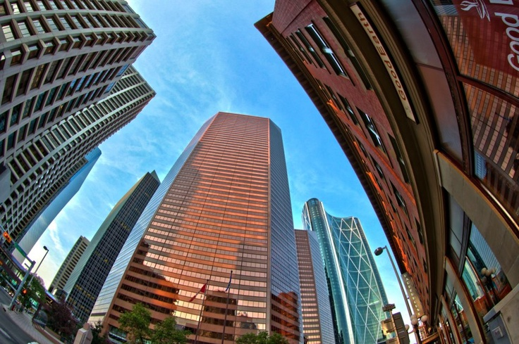 Downtown Calgary by Neil Zeller.