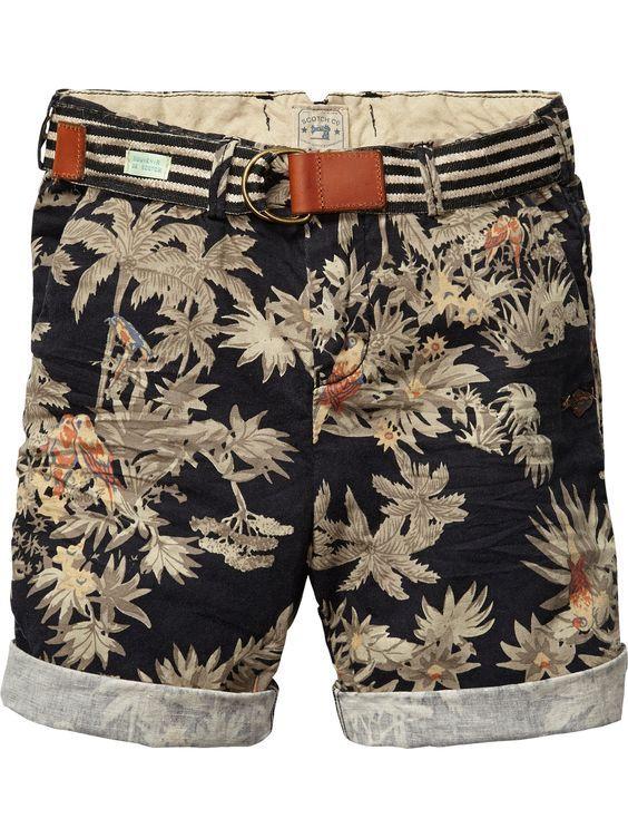 Bermuda/Short - Moda Masculina/Tomboy - Bugre Moda - Imagem: Reprodução