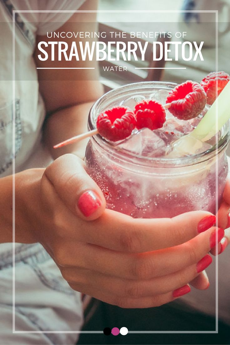 Kick start your detox diet with a unique new detox drink- strawberry detox water!