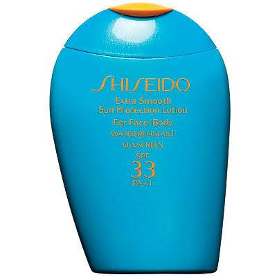 Shiseido Sunscreen  Super light texture, so smooth like a regular face cream
