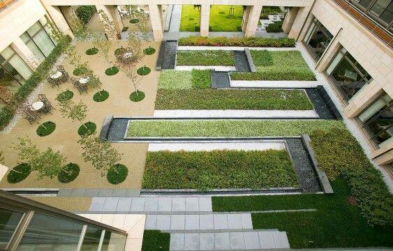Enclosed garden at Sun City Takarazuka