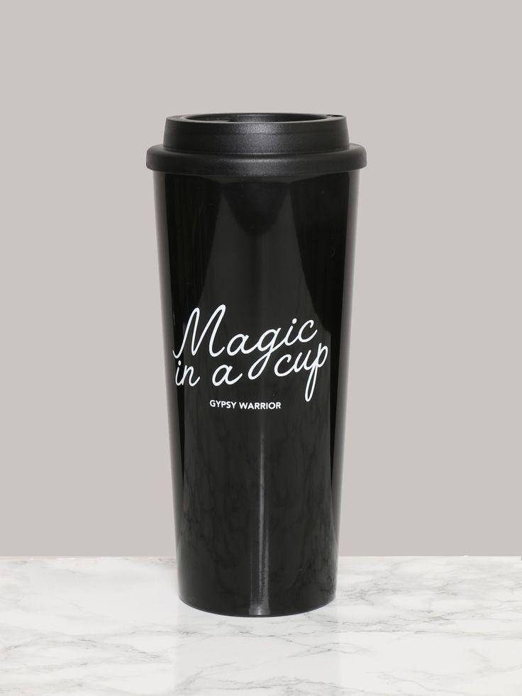Magic In A Cup Travel Mug - Gypsy Warrior