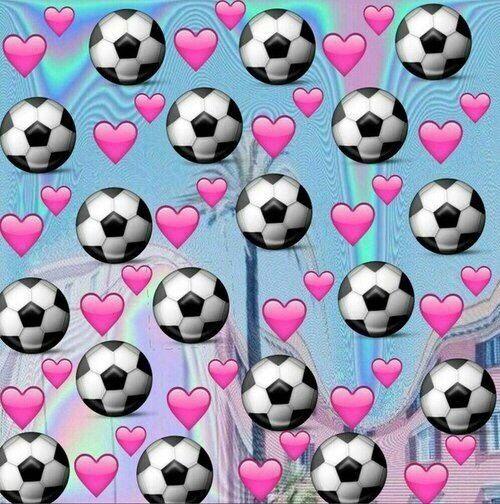 ⚽ Emoji Background Soccer