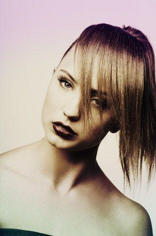 portret van model maureen van munster met haarstukken | Foto: Martin Janssen