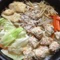 スープも鶏つくねもお手製☆味噌ちゃんこ鍋 by あゆみかぴ