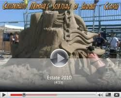 Risultati immagini per sculture di sabbia cervia 2011