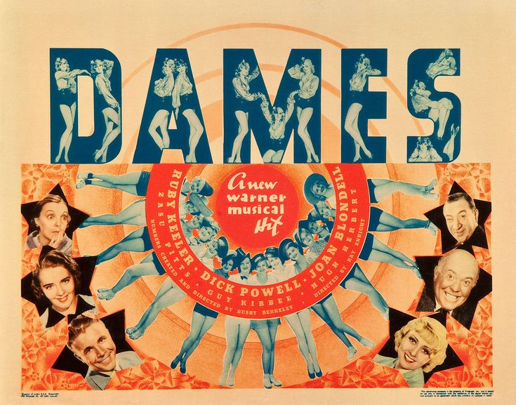 Dames (1934) poster