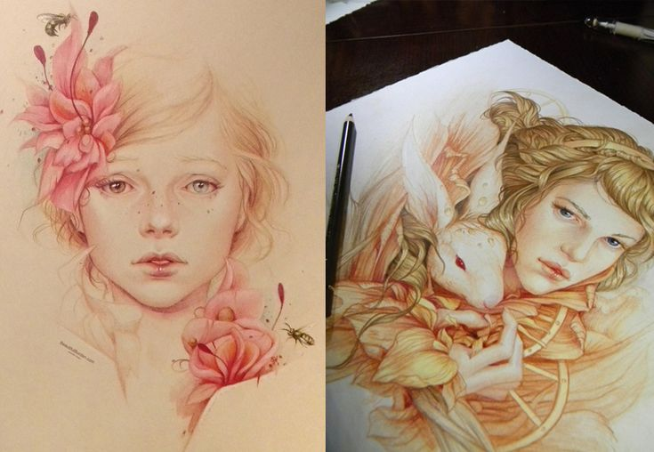 Featured Artist: The Beautiful Realistic Portraits by Jennifer Healy