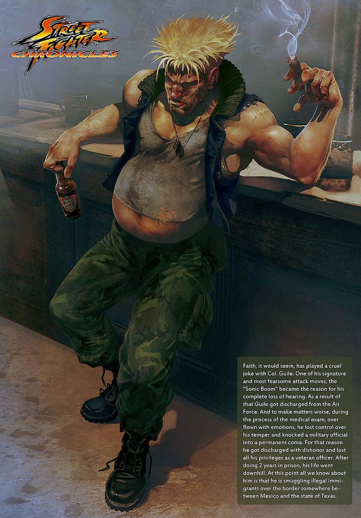 Arman Akopian Street Fighters Chronicles Guile