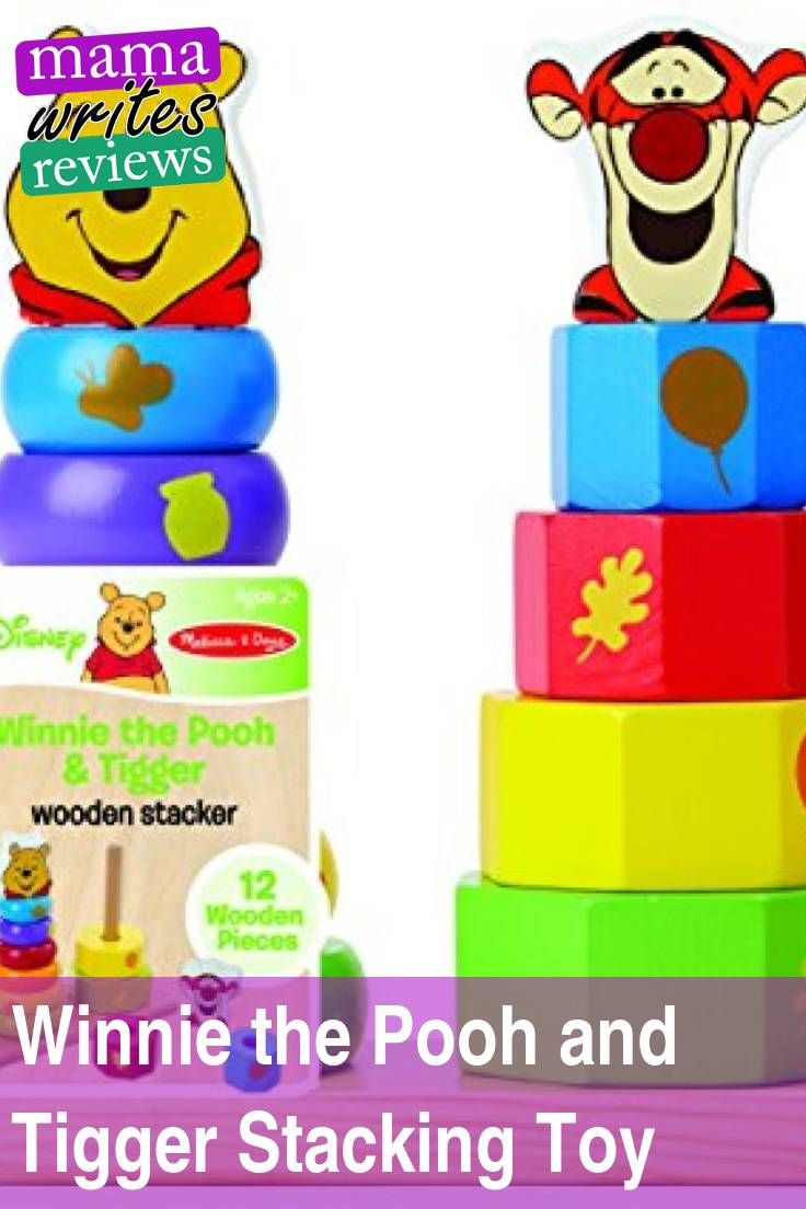My latest #review is up! Melissa & Doug​ has a #winniethepooh #stacking #shape #toy for #babies, #toddlers, and #preschoolers. My 2 1/2 year old loves it!