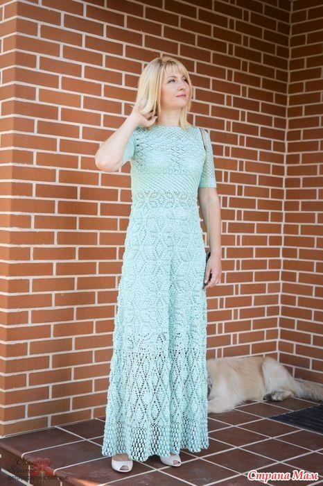Принимайте мою очередную работу - воздушно-нежное платье потрясающего мятного цвета по мотивам модели от Rebecca Taylor «Летний зефир»!