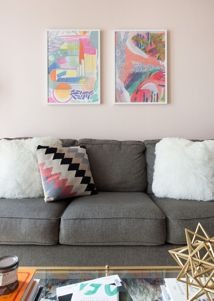 Are Blush And Gray The New Neutrals | Behr, Diy living ...