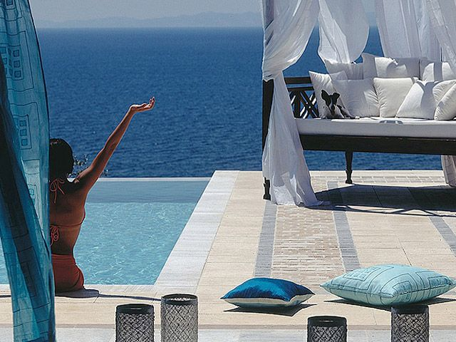 Danai Beach Resort & Villas 5 Stars luxury hotel villa in Sithonia - Nikiti Offers Reviews