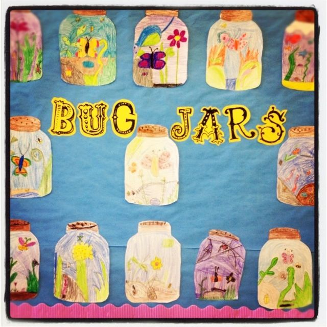 4032 best images about art ideas for kids on pinterest for Bugs arts and crafts