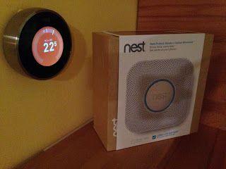 Nest okos termosztát otthon
