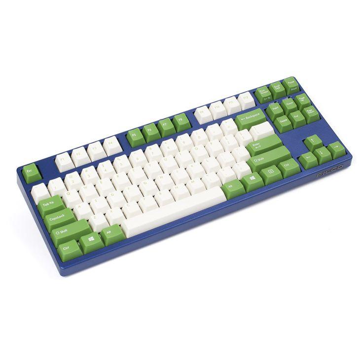 Filco Majestouch 2 Tenkeyless Mechanical Keyboard Cherry MX Blue Metallic Blue  #Filco