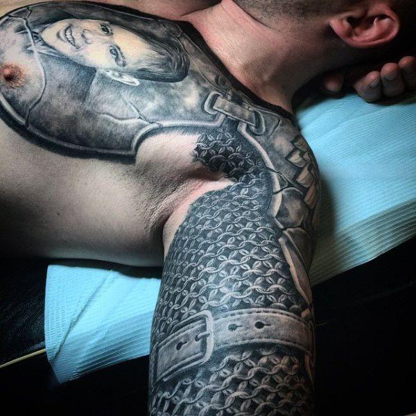 Tattoo Woman Knight: Best 25+ Armor Tattoo Ideas On Pinterest