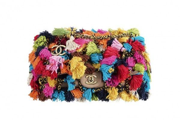 Borsa Chanel multicolor