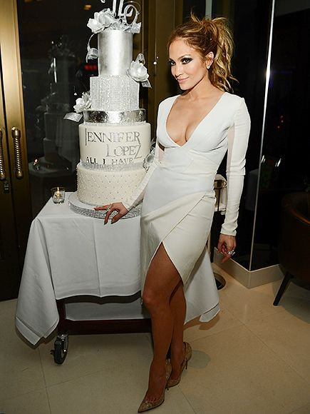 Star Tracks: Wednesday, January 27, 2016 | THE SWEET LIFE | Clearly performing is a piece of cake for Jennifer Lopez, who poses at the debut of her new Las Vegas show, All I Have, at Caesars Palace on Wednesday.