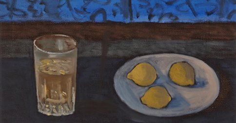 STANLEY MOREL COSGROVE, R.C.A. STILL LIFE WITH LEMONS  oil on canvas signed  16.25 ins x 20 ins; 41.3 cms x 50.8 cms   Provenance: Dominion Gallery, Montreal  Estimate: $2,500–3,500  Waddington's Auction House http://canadianart.waddingtons.ca/auction/128/lot-162  http://zaidan.ca/Art_Gallery/Cosgrove/Cosgrove_Stanley.htm