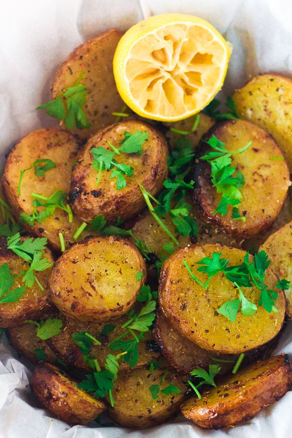 Greek Lemon Potatoes ~ **These are really delicious**