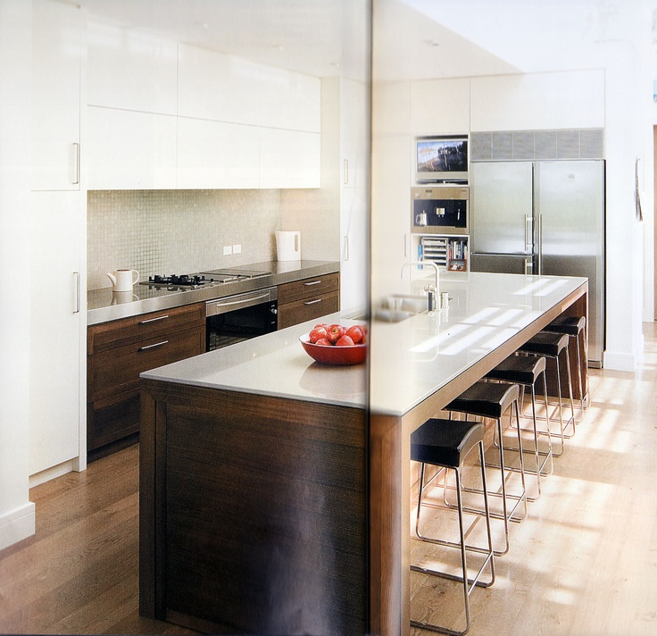 Kitchen, Marble On Top Of Timber