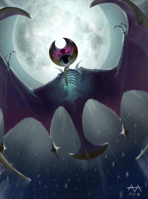 inkveined:  Lunala Pokemon Moon and Sun The more I see of Moon... - http://pokemon.abafu.net/pokemon/inkveinedlunalapokemon-moon-and-sunthe-more-i-see-of-moon