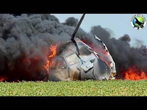 Latest released Video of Airbus A400M crash at Seville in