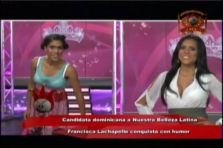 Concursante Dominicana En Nuestra Belleza Latina Conquista Con Humor #Video