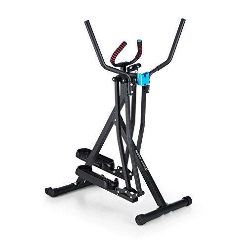 cool CAPITAL SPORTS Crosswalker Caminador elíptico (elíptica para movimientos verticales y horizontales, entrenamiento en casa, ordenador con pantalla LCD, plegable)